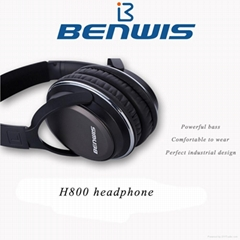 2015 Benwis H800 stereo Bluetooth V4.0 headphone Best Gaming noise cancelling