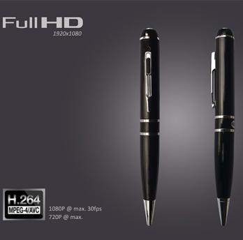 2015 Newest 1080P Full HD H.264 65deg angle mini pen cctv camer 1