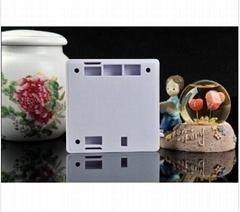 HD 2.4G wireless remote control hidden wall socket camera 30fps TF card motion d