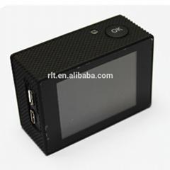 1080p mini wifi sport camera wireless waterproof 30m with wide angle 170degree