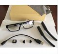 720P 30fps The first HD  detachable camera video glasses invisible lens  3