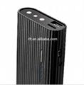 1080p power bank dvr hidden camera IR night vision power bank camera with remote 4