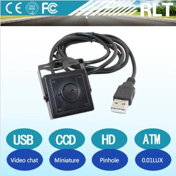 HD mini pinhole lens illumination dedicated micro usb camera  1