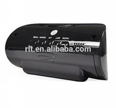 720P 140 degree wide angle sports hidden mini camera alarm clock camcorder
