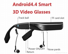 Real Manufacturer 98-inch Mobile Theater Virtual reality 3D Android System Video