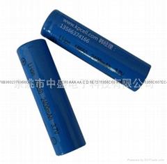 厂家供应批发18560手电筒锂电池