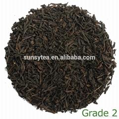 Made in China tea leaf manufacturer black tea wholsale grade 2
