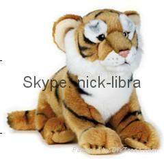 10 Inches Floppy Tiger(Realistic plush / soft toys, stuffed animal, wild life)