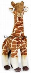 13.5 Inches Standing Giraffe(Realistic plush / soft toys, stuffed animal)