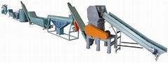 Plastic film recycling washing line 1000kg/h