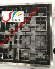 黑钛不锈钢屏风定制