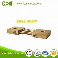 Original manufaturer Best Quality BE-60mV 250A  dc current shunt