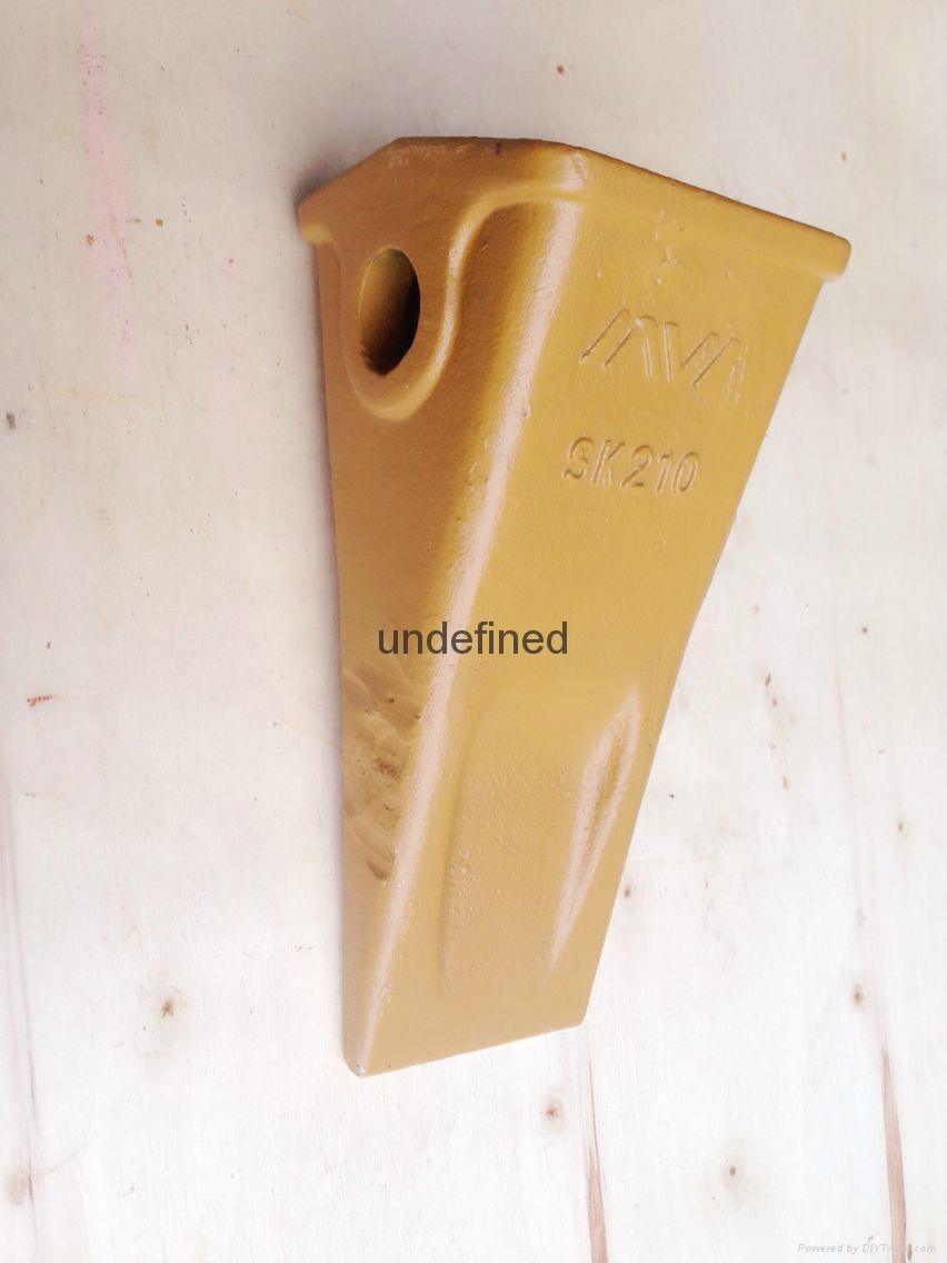 Supply sdlg wheel loader part bucket tooth - SK210 (China
