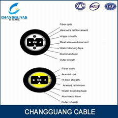 Factory price for Bow-type drop cable for duct GJXFHA Changguang communication
