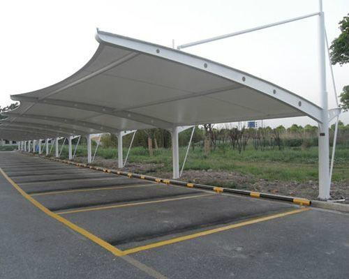 膜结构车棚 1