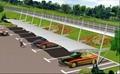 膜结构汽车棚 2
