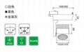 commmercial lighting spotlight LED track lightCREE COB 2