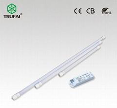 智能感應LED T8節能燈管熒光燈管1.2米18W (0.6米和0.9米)