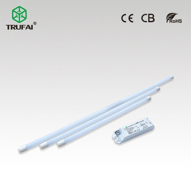 外置电源18W无频闪LED T8灯管1.2米(0.6米, 0.9米可选) 1
