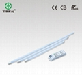 No flickering 18W LED T8 tube 1.2m with driver outside