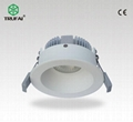 8W LED筒灯 夏普COB光