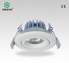 可調角度高光效8W LED 筒燈天花燈夏普COB芯片