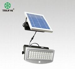 10W solar human body induction led flood light