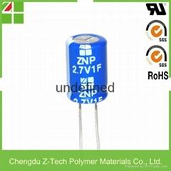 super capacitor 2.7V 25F supercapacitor design