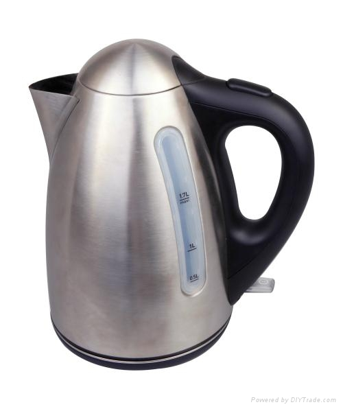 electric stainless cordles kettle top quality with warm function optional 1