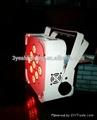 9*15W RGBWA 5in1 LED Flat PAR Uplighting