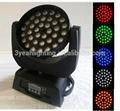 36X10 LED Moving Head Wash Zoom RGBW LED