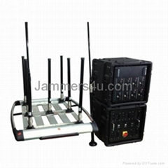Military Police Government Convoy Portable Pelican RCIED Bomb Jammer up to 1km