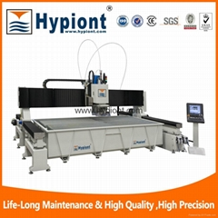5 axis waterjet cutting machine for metal stone ceramic tile granite marble