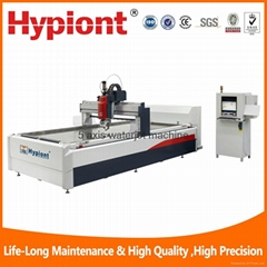 5 axis waterjet machine supplier for metal stone ceramic tile granite marble