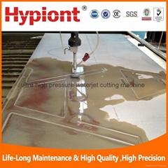 Ultra high pressure waterjet cutting machine