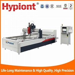 Granite water jet cutting machine