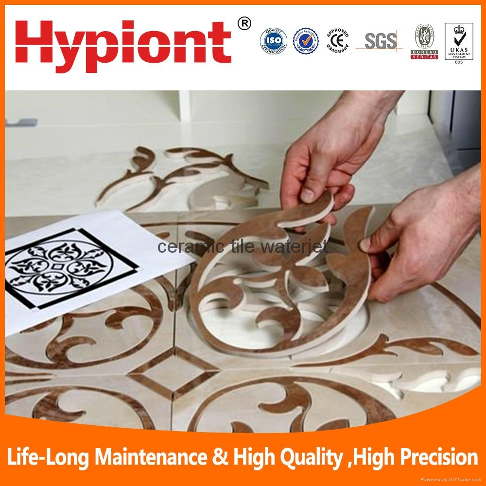 ceramic tile waterjet  cutting machine 3