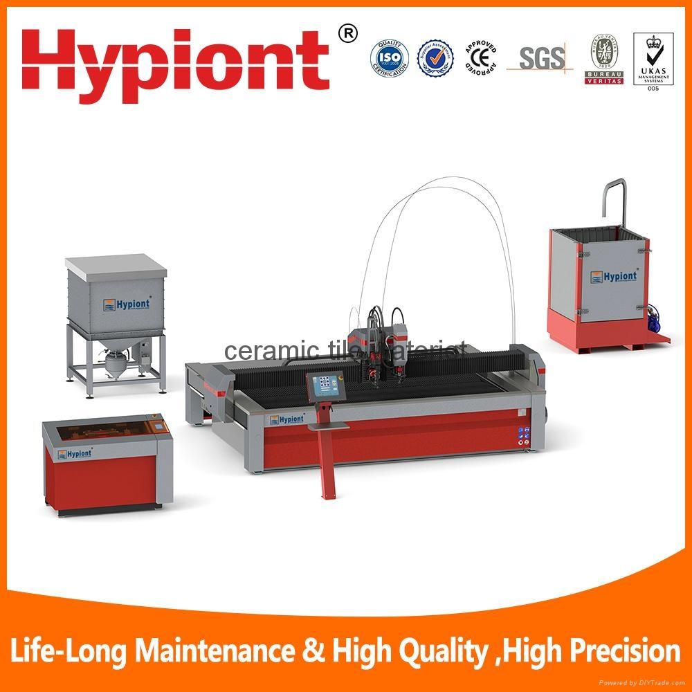 ceramic tile waterjet  cutting machine 1