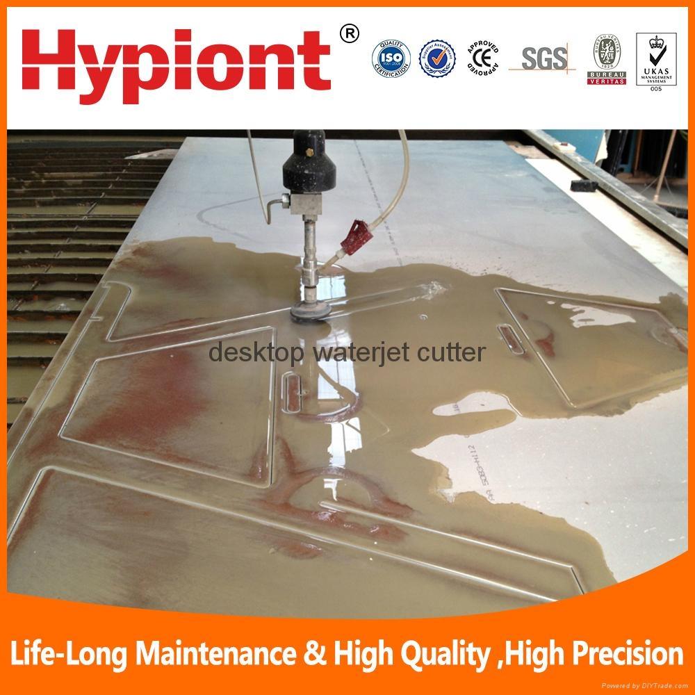 Best desktop waterjet cutter machine for metal stone glass plastic in china 6
