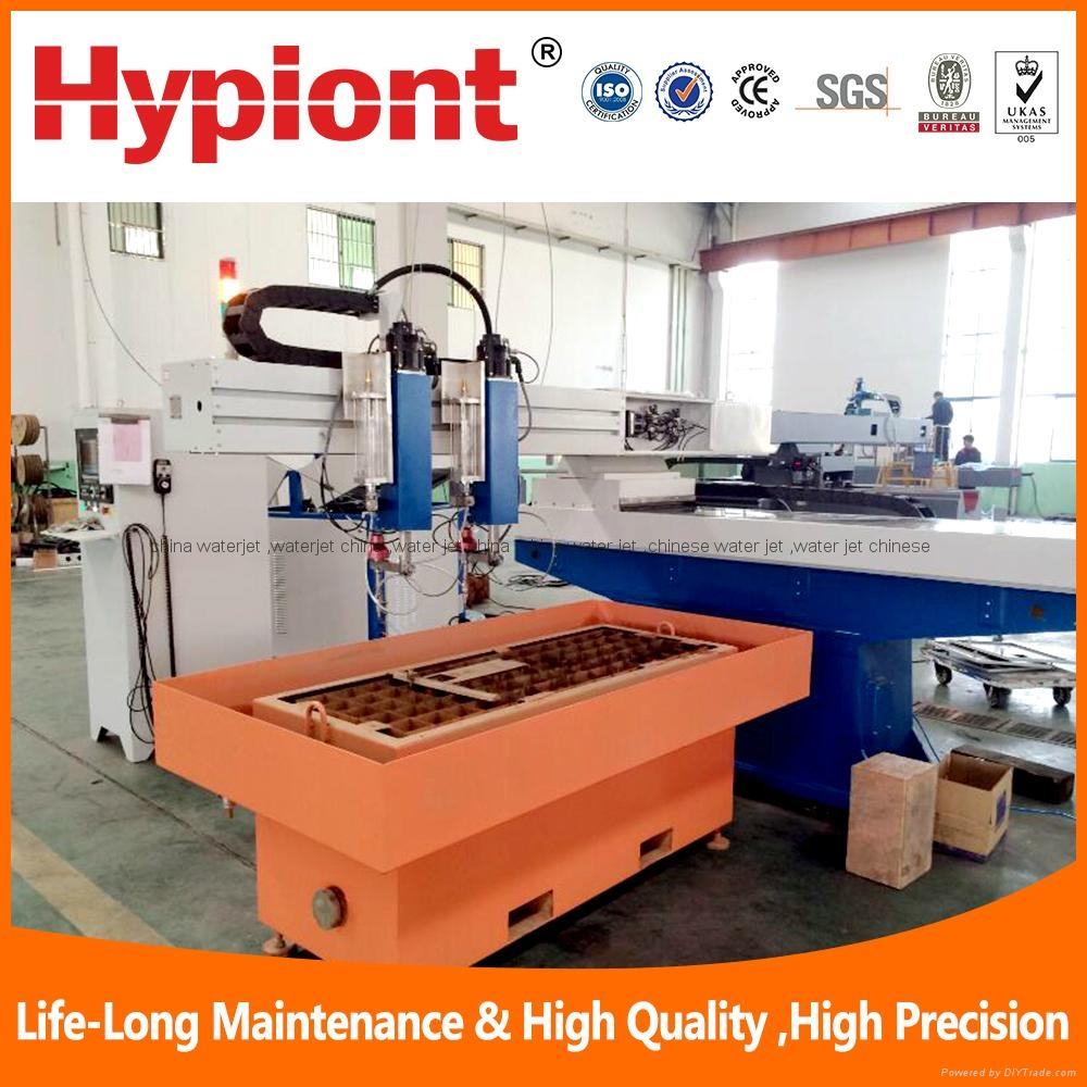 China best waterjet cutting machine for metal stone glass with CE TUV ISO 5