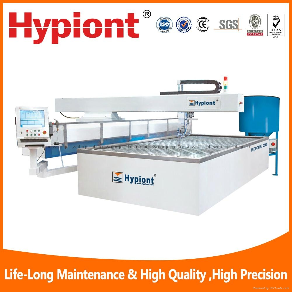 China best water jet cutting machine for metal stone glass with CE TUV ISO9001 3