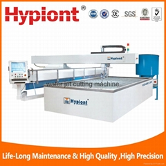 water jet cutting machine for rubber plastic composite material fiber glass