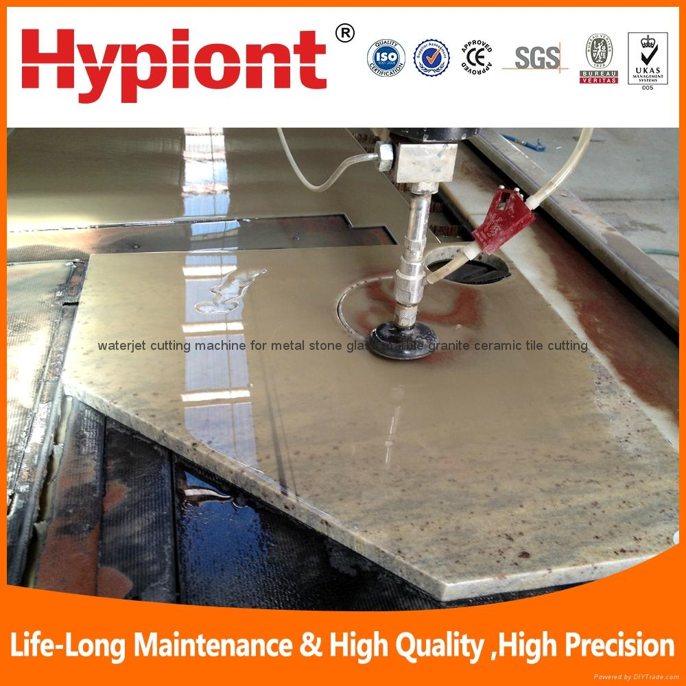 water jet cutting machine for ceramic tile stone marble granite cutting in china 4