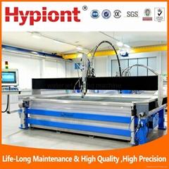 Titanium stainless steel rubber plastic composite waterjet cutting machine