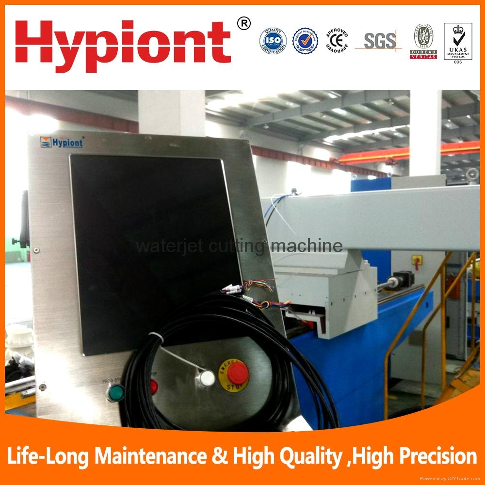 china waterjet cutting machine for metal stone glass in a cheap price  3