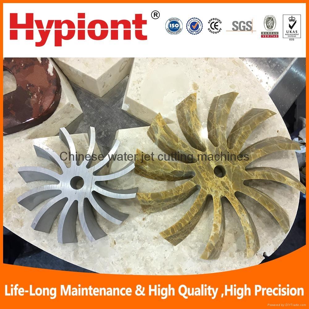 water jet cutter machine for marble granite ceramic tile cutting  2