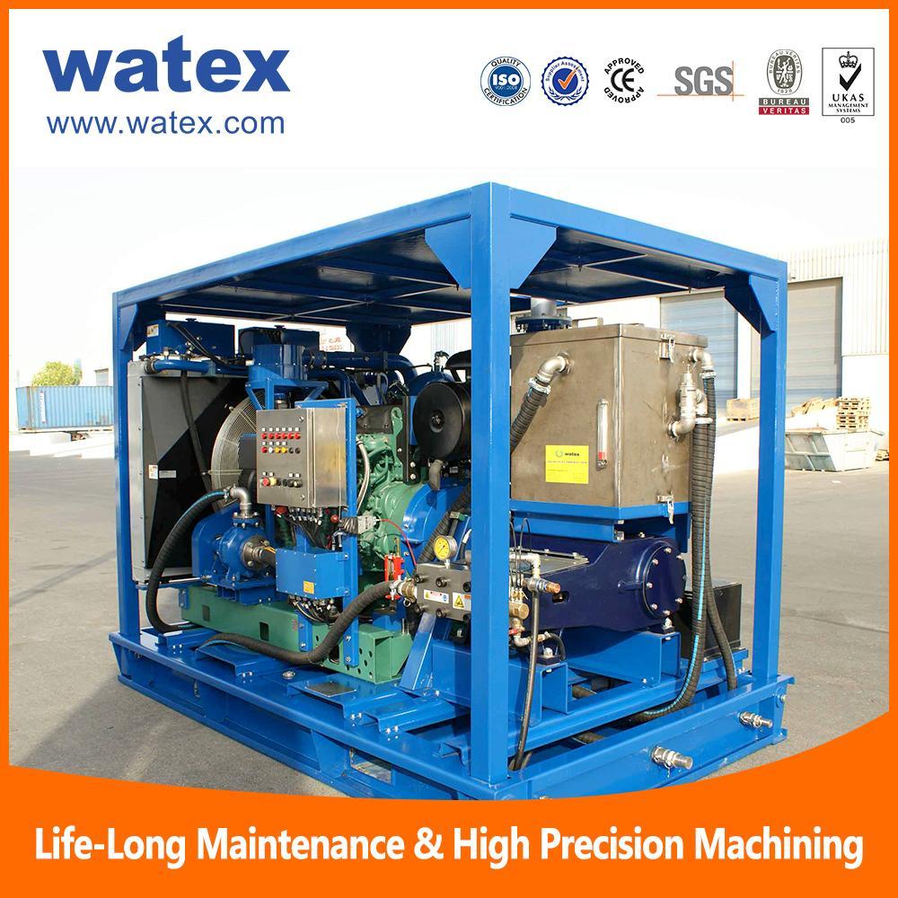 high pressure water jetting machine