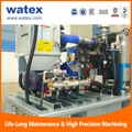 high pressure waterjet cleaning system