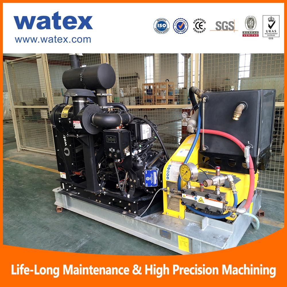 waterjet cleaning