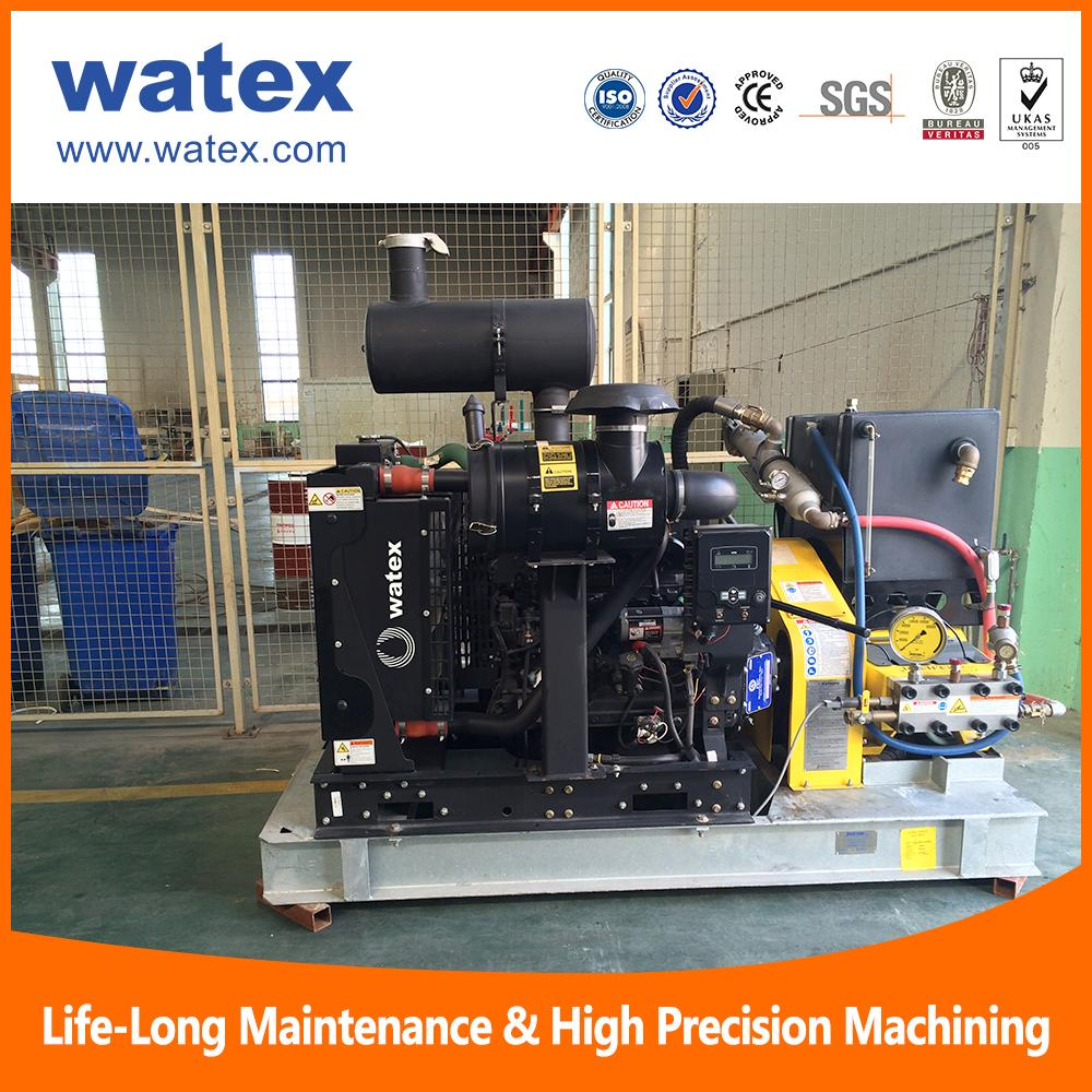 water jet cleaning solution